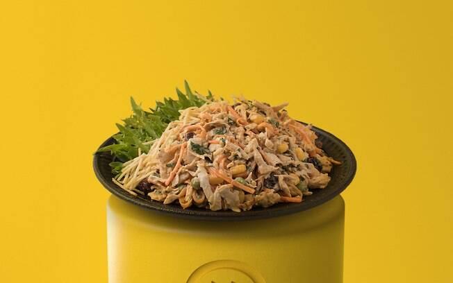 O salpicão vegano é uma delícia e super prático de fazer