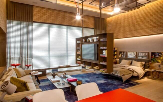 Sala De Tv E Quarto ~ entre a sala de tevê e o quarto, no estúdio de Ana Lila Denton e