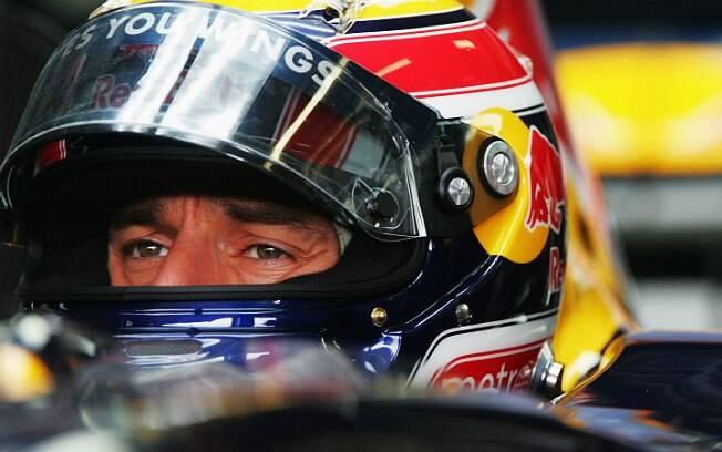Mark Webber durante os treinos para o GP da Austrália em 2007