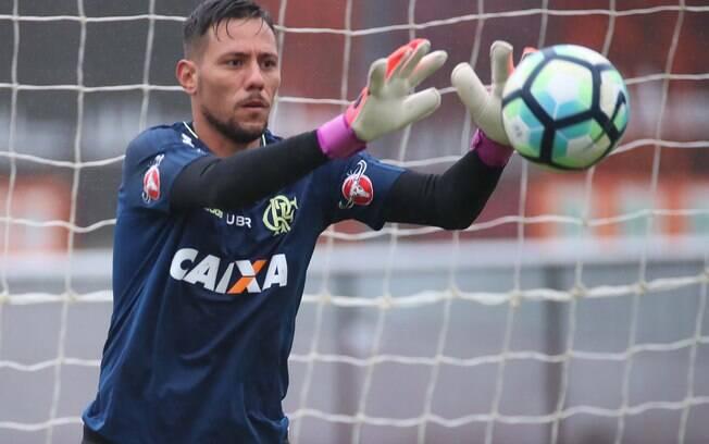 Diego Alves, do Flamengo