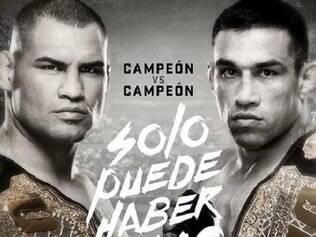 Luta será no dia 13 de junho, na Cidade do México