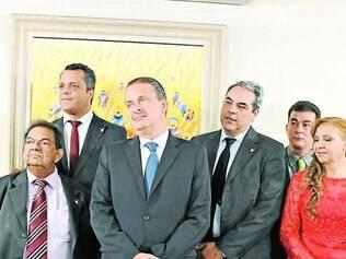 Solenidade.    Reunião que deu título de cidadão a Campos contou com a presença de Tilden Santiago