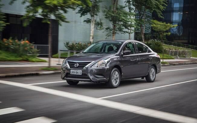 Nissan Versa consegue o quarto lugar entre os carros mais vendidos da América Latina e logo deve ganhar retoques