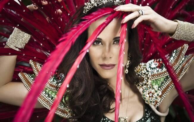 Ana Furtado: rainha de bateria da Grande Rio