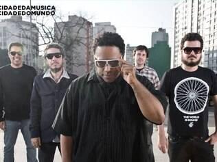 Banda B Negão e os Seletores de Frequência irão se apresentar no Sábado (5) no mercado das Borboletas