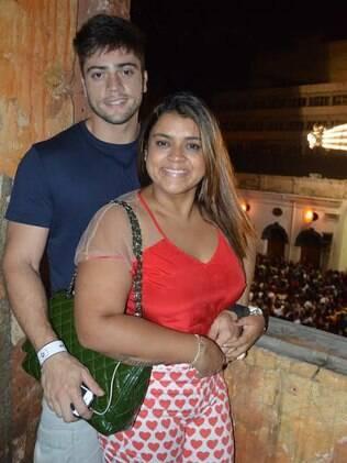Preta Gil e Rodrigo Godoy: final de semana intenso em Salvador