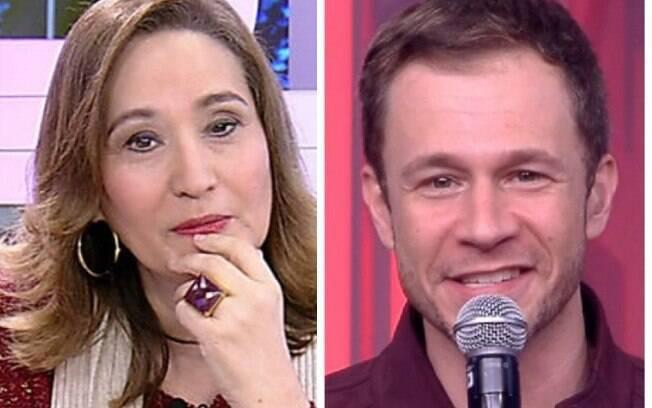 A apresentadora Sônia Abrão criticou a postura que Tiago Leifert tem como apresentador do