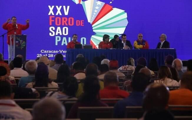 Foro de São Paulo esvaziado
