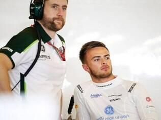 Will Stevens era reserva da Marussia e chegou a disputar o GP de Abu Dhabi com a Caterham, que faliu no início deste ano
