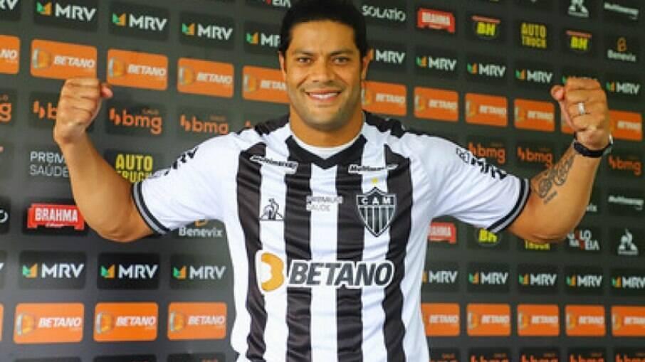 Atacant atuou durante os 90 minutos e teve participação direta no quarto gol atleticano