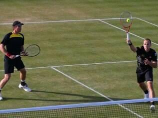 Soares e Peya avançaram à semifinal do torneio britânico