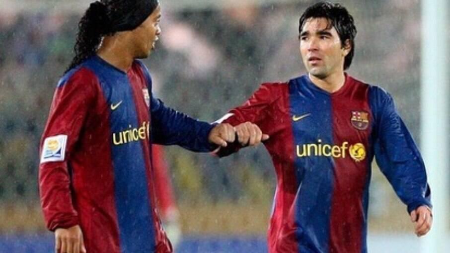 Ronaldinho Gaúcho e Deco