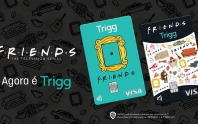 Trigg lança cartão de crédito em homenagem ao seriado Friends