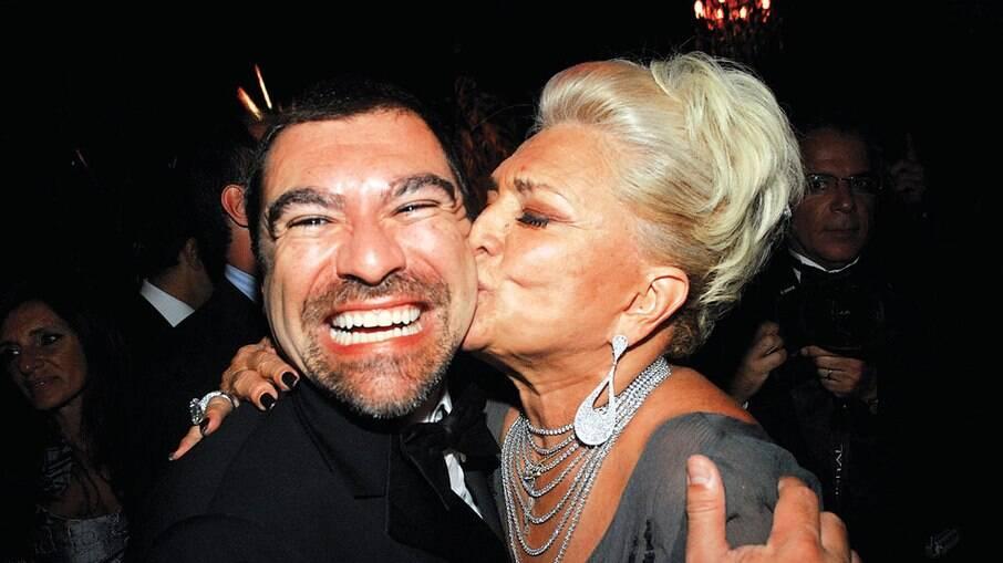 Marcello Camargo e Hebe