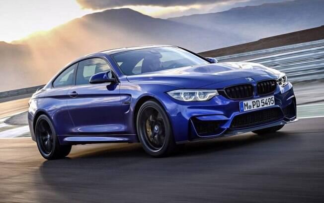 BMW M4 CS: série especial do cupê esportivo pode acelerar de 0 a 100 km/h em apenas 3,9 segundos e atingir 280 km/h