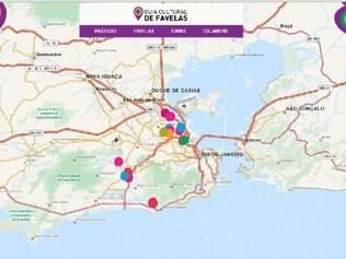 Observatório de Favelas lança mapa cultural de seis comunidades do Rio