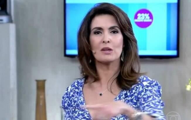 Estima-se que Fátima Bernardes embolse mais de R$ 1,5 milhão desde que deixou o 'Jornal Nacional' e assumiu o 'Encontro'