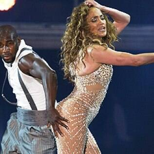 Jennifer Lopez em São Paulo
