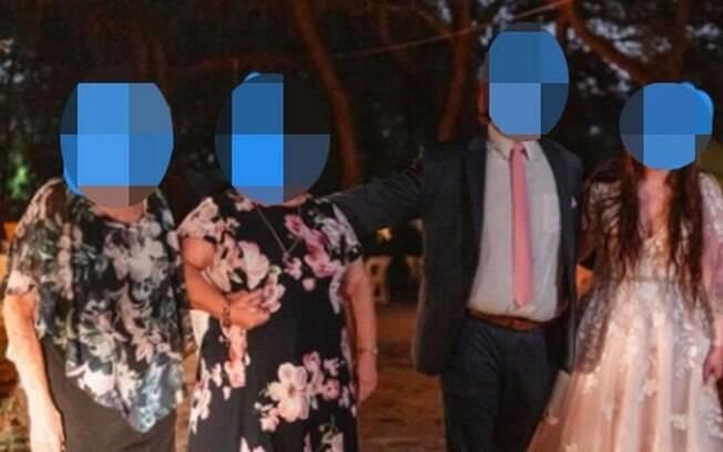 Casal convida avó com Covid-19 para casamento