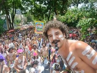 Cidades - Belo Horizonte -  Minas Gerais Carnaval 2015 na cidade de Belo Horizonte  no bairro Floresta Na foto: Bloco Juventude Bonzeada  Foto: Uarlen Valerio / O Tempo -   17.02.2015