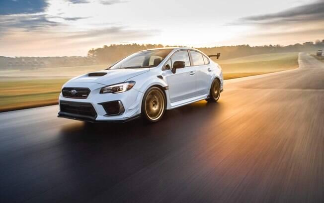 Subaru WRX STi S209, com motor de 341 cv, será vendido apenas nos EUA e brilha no Salão de Detroit 2019