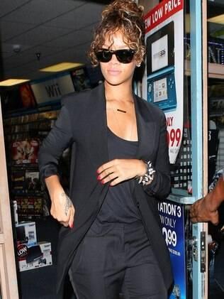 Rihanna em Los Angeles na última semana