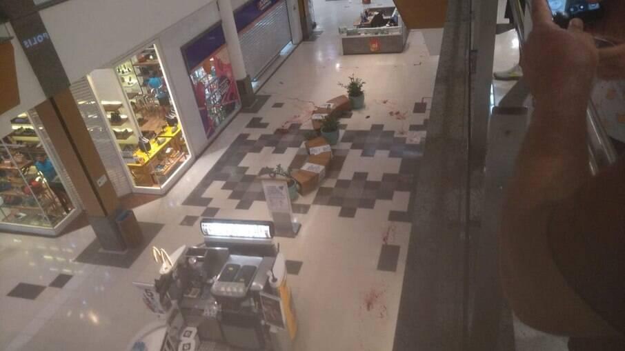 Tiroteio em shopping de Recife