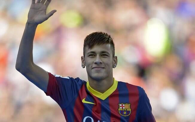 Neymar será o camisa 11 do Barcelona