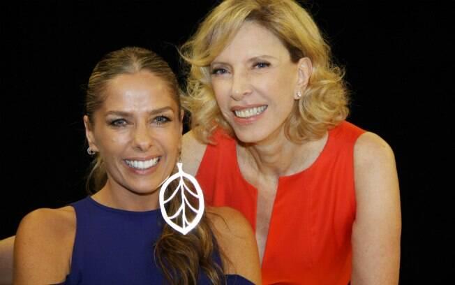 Adriane Galisteu e Marília Gabriela