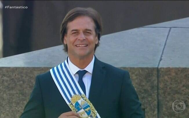 Luis Alberto Lacalle Pou, presidente do Uruguai