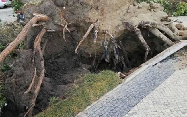 Tempestade Leslie atinge Portugal e deixa 27 feridos
