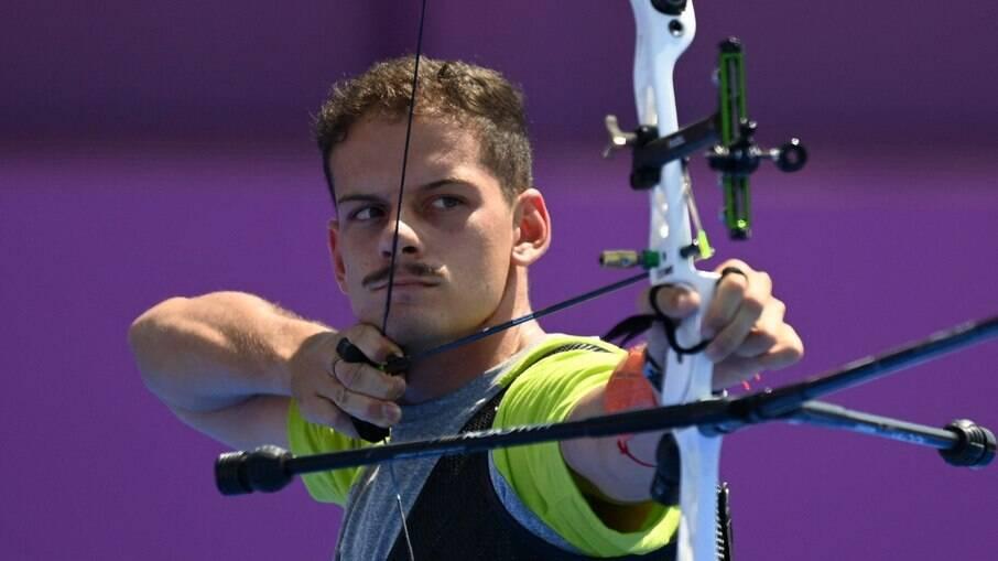 Marcus D'Almeida, brasileiro do tiro com arco