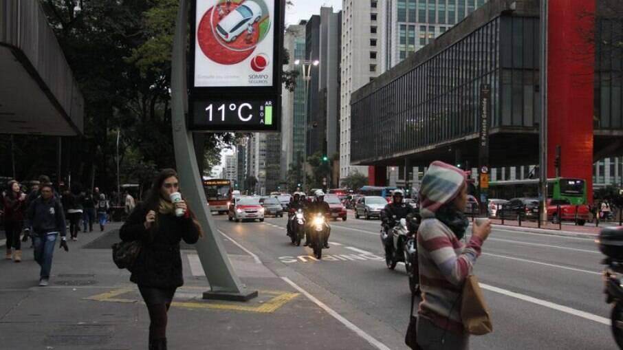 Temperatura vai cair drasticamente em todo o Brasil a partir de quarta (28)