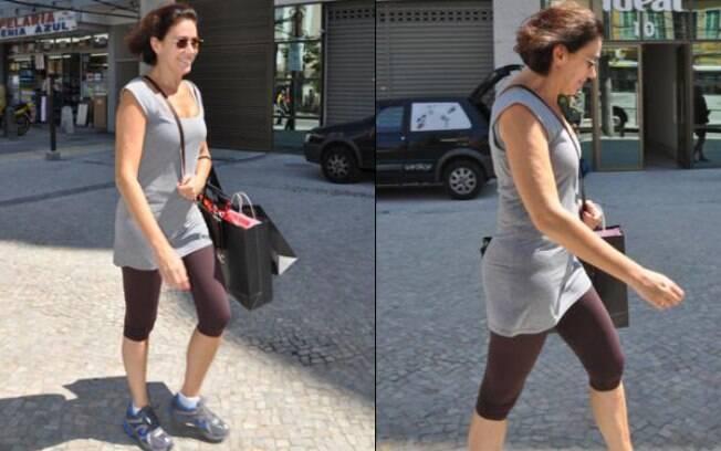 Lilia Cabral passeia pelo Rio de Janeiro