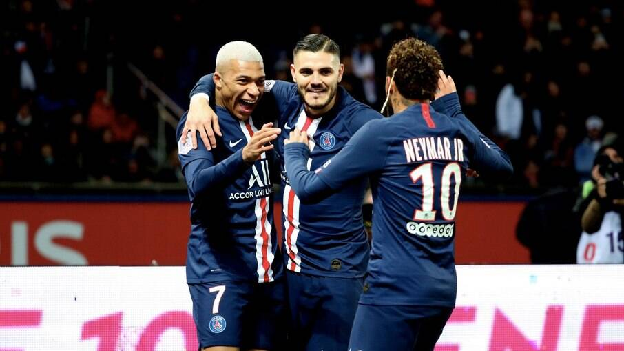 Mbappé, Icardi e Neymar