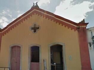 PORTAL - OURO PRETO - MG - 29.04.2014 Fachada da Casa da Opera , em Ouro Preto - MG , que foi interditada  FOTO : Reproducao / Street View