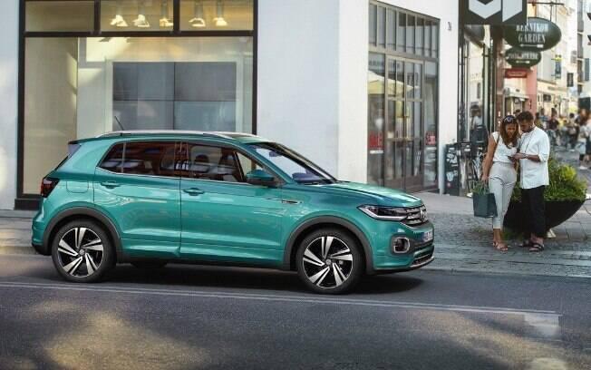 VW T-Cross  será um dos novos rivais de peso do Hyundai Creta durante o ano de 2019