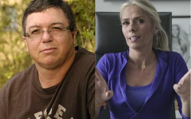 Galisteu e Boninho