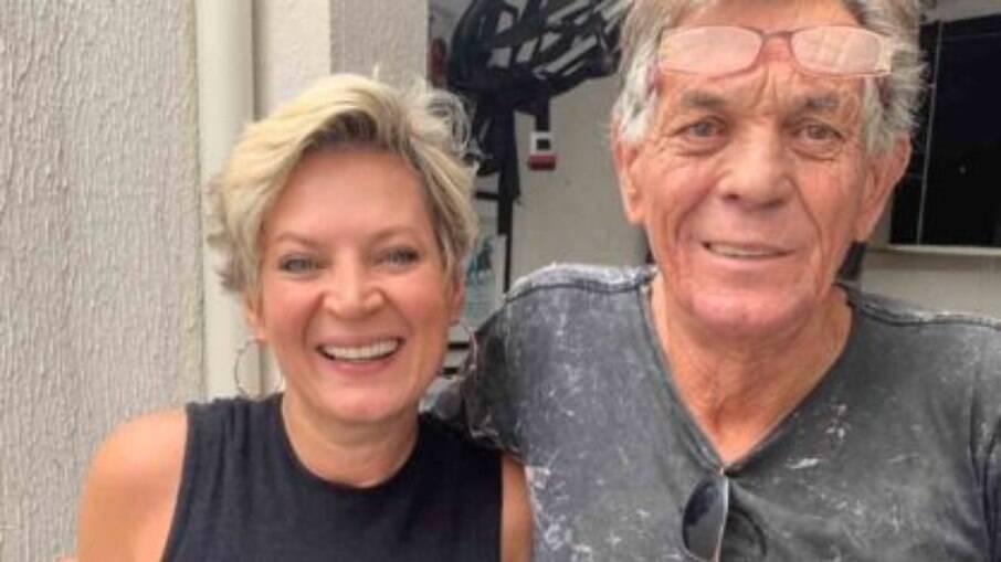 Joice Hasselmann reencontra seu pai após dez anos