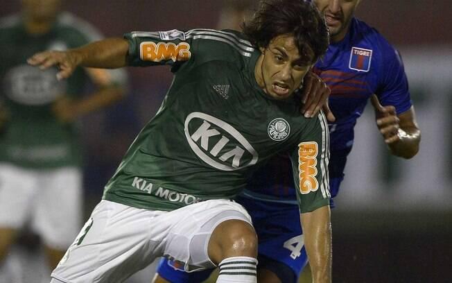 Valdivia estava na partida entre Palmeiras e Tigre em 2013