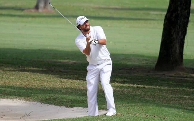 Rodrigo Lombardi: jogador de golfe nas horas vagas