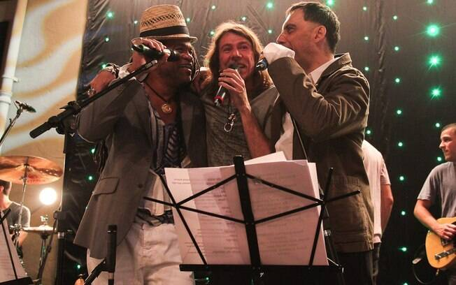 Carlinhos Brown, Lenine e Arnaldo Antunes