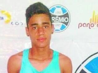 Igor.  Atacante de 15 anos é  um dos destaques do Grêmio