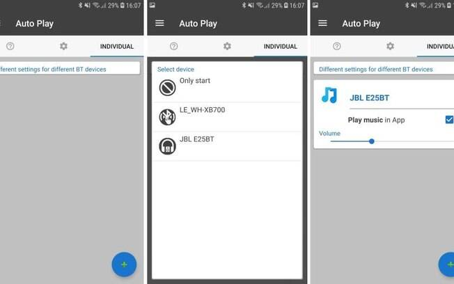 Instruções fone de ouvido Android
