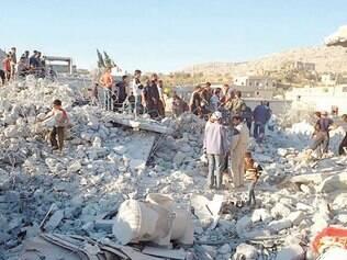 Destruição. Governo dos EUA divulgou comunicado informando que múltiplos alvos foram destruídos