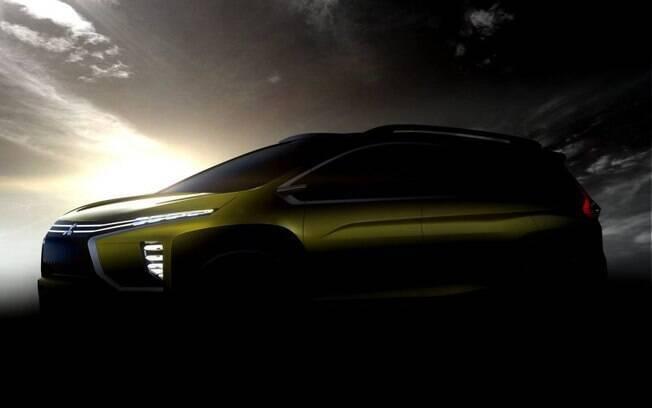 Com apresentação marcada para o Salão da Indonésia, o novo conceito da Mitsubishi adianta um carro de sete lugares.