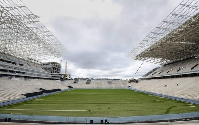 Estádio de Itaquera deve ser entregue em  dezembro