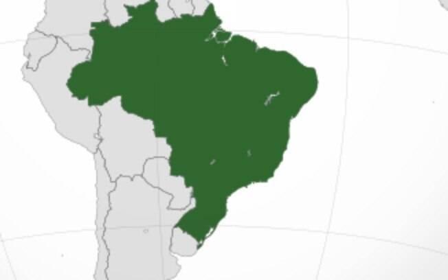 Número de negativados por região no Brasil mostra região norte com a maior concentração proporcional
