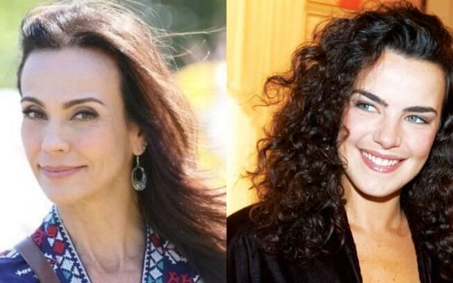 Ana Paula Arósio e Flávia Monteiro