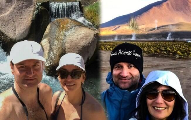 O blog surgiu porque o casal percebeu que as pessoas queriam saber das experiências de viajar pelo mundo
